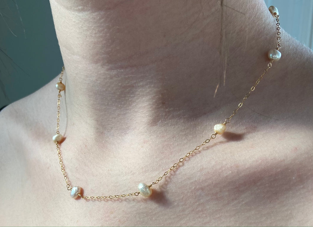 Kamala Pearl Necklace