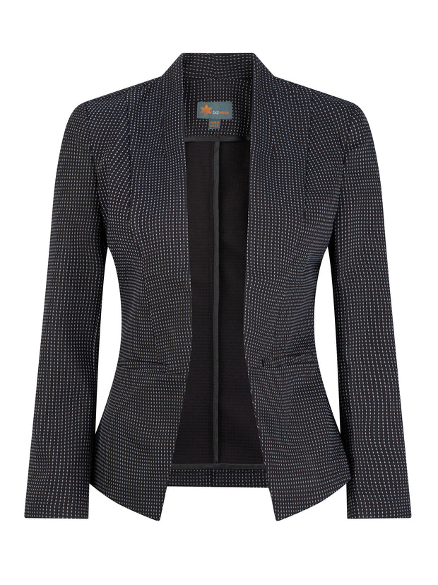 Evie Textured Fleck Jacket