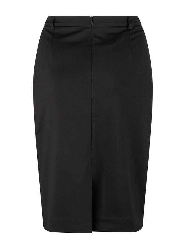 Jacquie Mock Crossover Skirt
