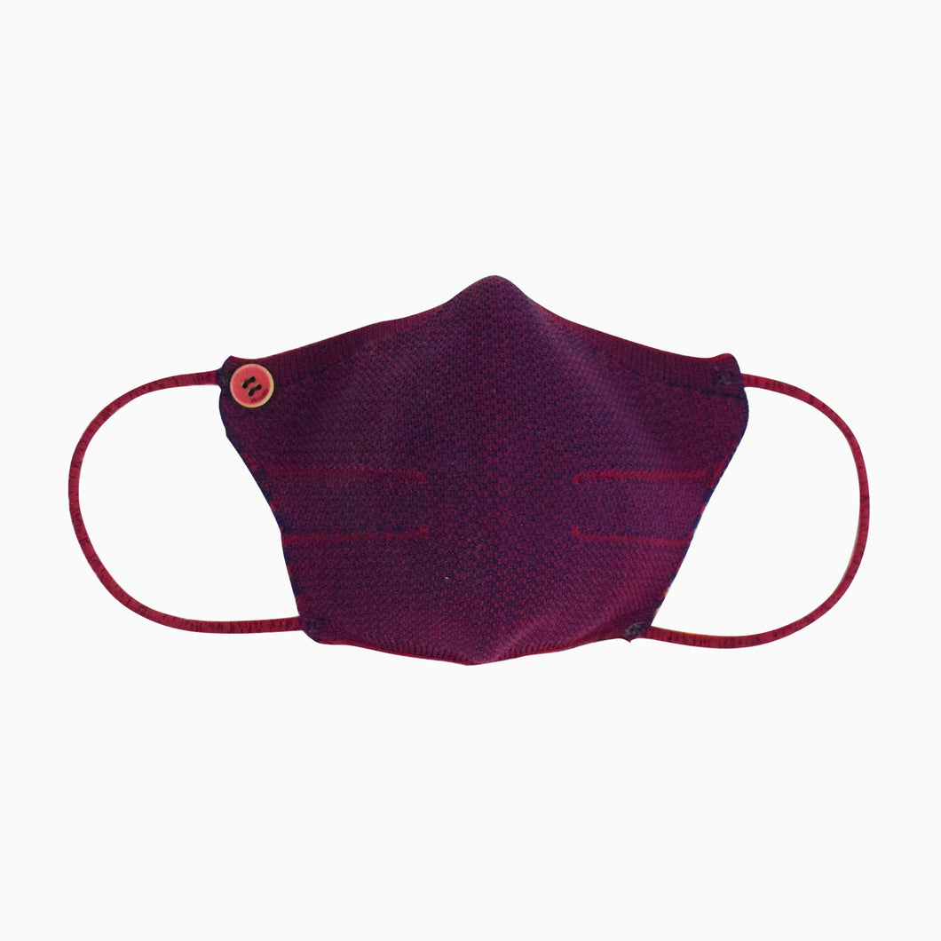 Shockly Mask M30 - BORDEAUX/NAVY cod. 2030