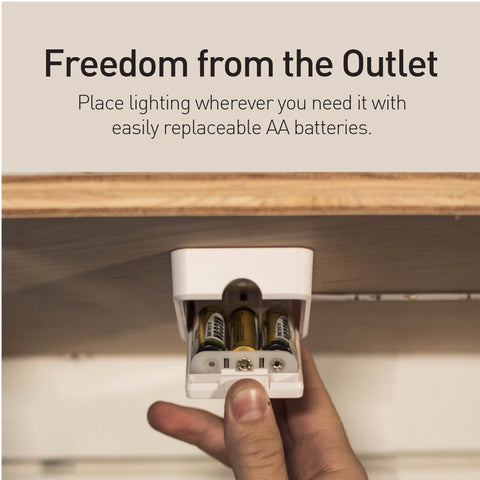 freedom from the outlet luminoodle feature