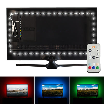 Luminoodle Professional TV Bias Lighting for HDR 4K Televisions and Monitors