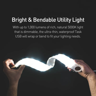 Luminoodle Task USB flexible and bright utility lighting