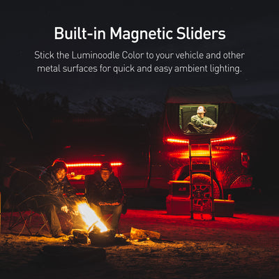 Luminoodle Color car Camping lights that are quick and easy to hang anywhere