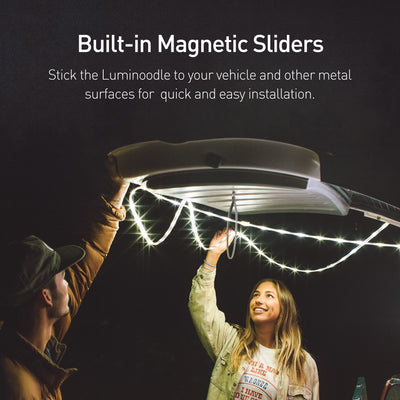 Built-in Magnetic Sliders