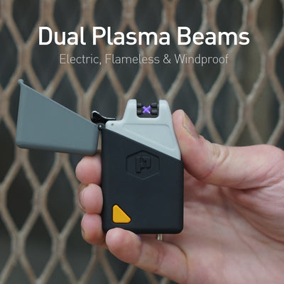 The Sparkr Mini is the best electric arc lighter with powerful dual plasma beams that's windproof.