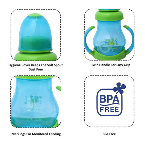 1st Step BPA Free Polypropylene Soft Spout Sipper Cup
