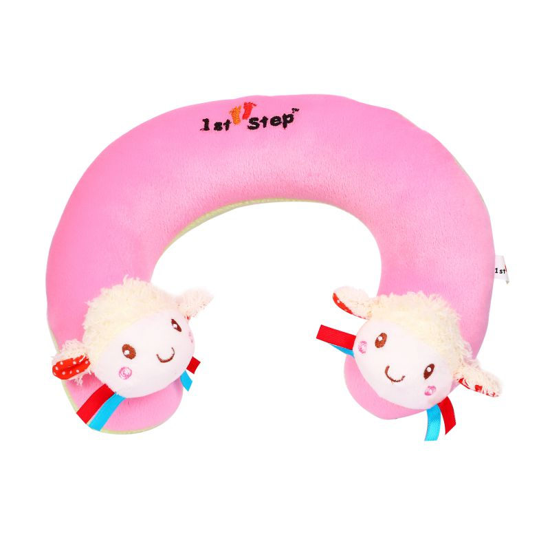 1st Step Soft Doll Faced Neck Supporter Pillow