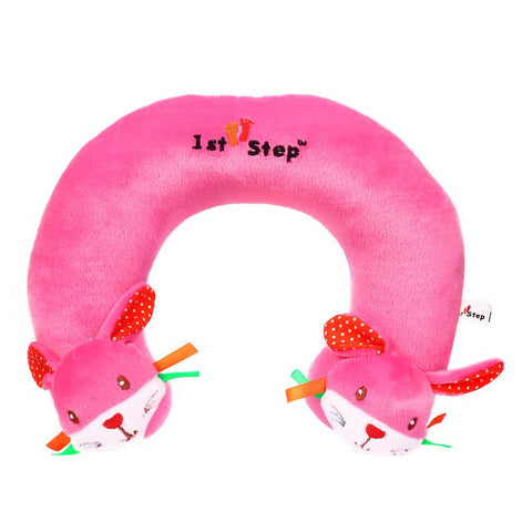 1st Step Soft Rabbit Faced Neck Supporter Pillow