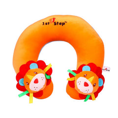 1st Step Soft Lion Faced Neck Supporter Pillow