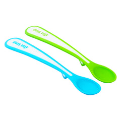 1st Step Soft Tip Spoon (2 pcs Pack)-Blue & Green