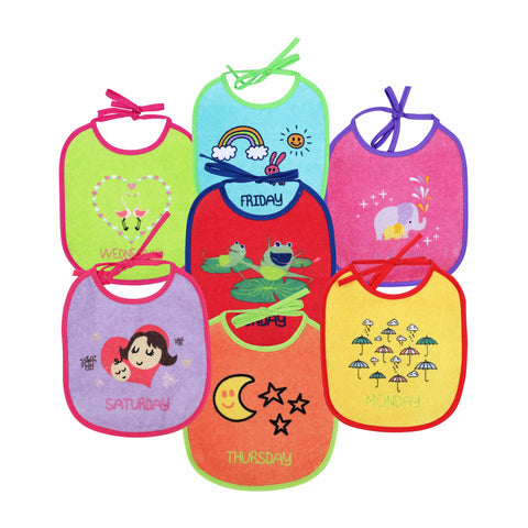 1st Step Baby Bibs - Pack Of 7