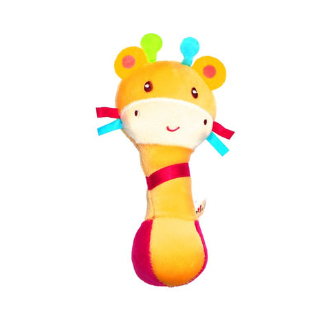 1st Step Catterpillar Face Soft Plush Shaking Rattle Cum Toy