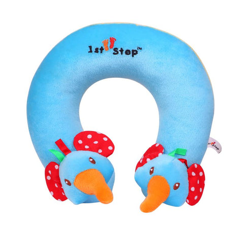 1st Step Soft Elephant Faced Neck Supporter Pillow