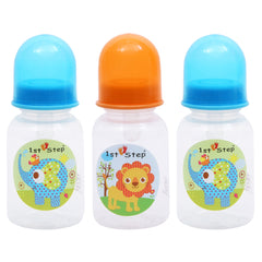 1st Step 125ml BPA Free Polypropylene Feeding Bottle - Pack Of 3