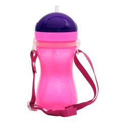 1st Step Spill Proof BPA Free Straw Sipper With Strap