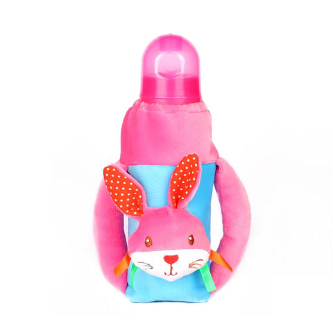 1st Plush Bottle Cover Rabbit Face Motif