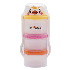 1st Step BPA Free Milk Powder And Food Container With Fork And Spoon