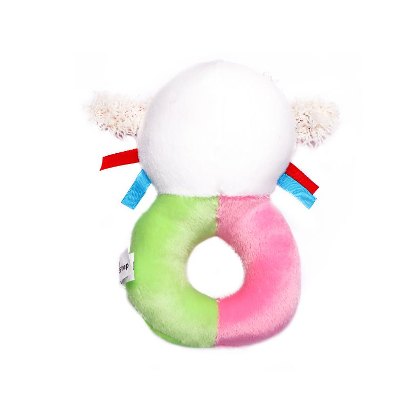 1st Step Doll Face Soft Plush Ring Rattle Cum Toy