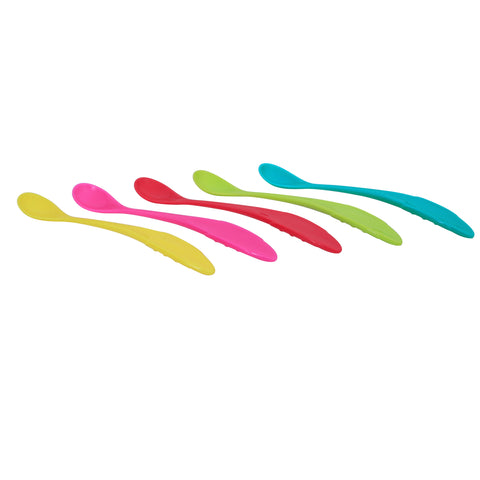 1st Step BPA Free Easy Grip Weaning Spoon ( Pack of 5)