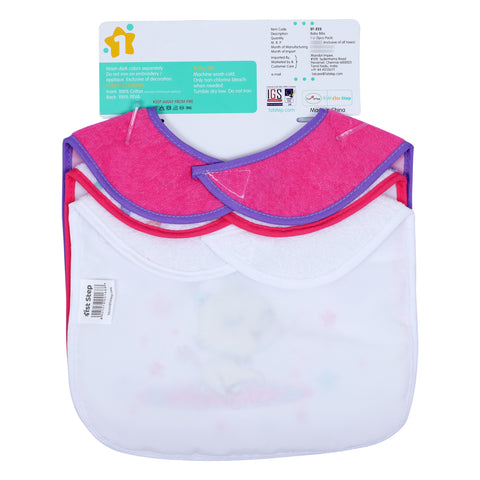 1st Step Baby Bibs - Pack Of 3