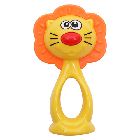 1st Step Premium Lion Rattle - Yellow