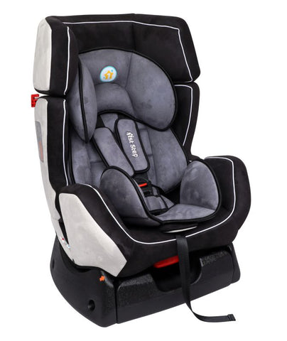 1st Step Convertible Car Seat With 5 Point Safety Harness-Grey