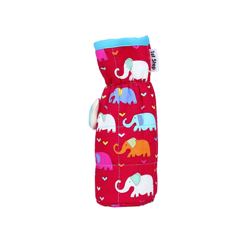 1st Step Bottle Cover With Animal Face Motif (Pack Of 2)
