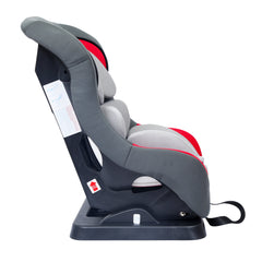 1st Step ECE R44/04 Safety Certified Car Seat for Kids of 2 to 5 Years Age with 3 Recline Position and 5 Point Safety Harness - Red