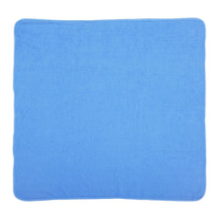 1st Step Terry Cotton Soft, Absorbant, Breathable, Skin Friendly, Printed, Hooded Baby Bath Towel/Bath Robe/Wrapper(Blue)