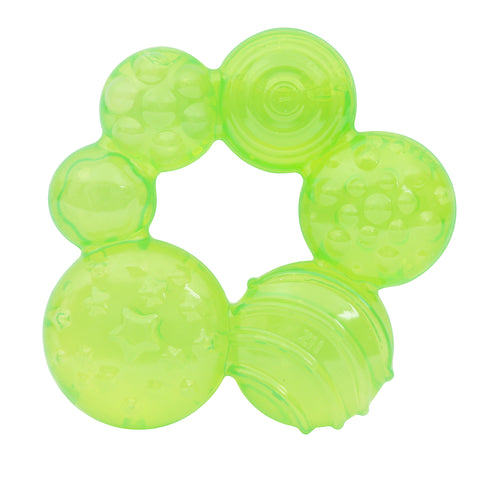 1st Step BPA Free Water Filled Teether-Green