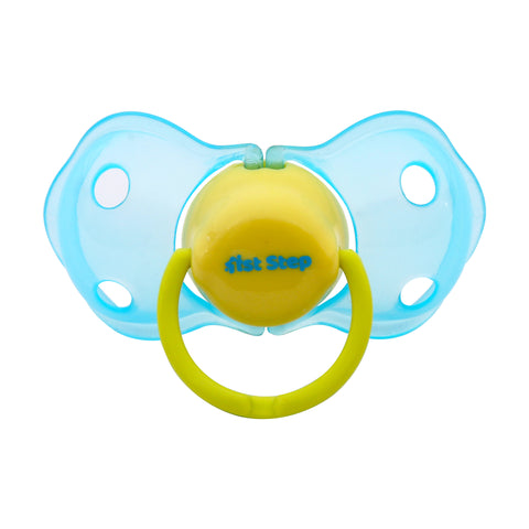 1st Step Soft Silicone Pacifier-Blue