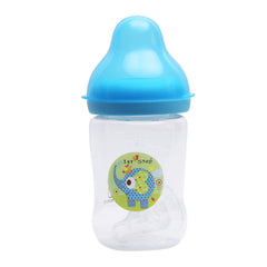 1st Step 125ml BPA Free Polypropylene Feeding Bottle - Blue