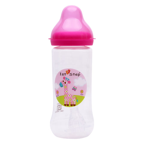 1st Step 250 Ml BPA Free Polypropylene Feeding Bottle-Pink