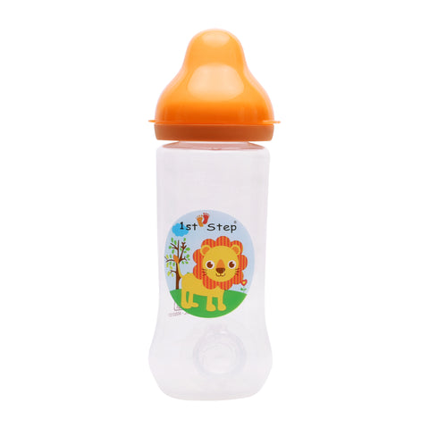 1st Step 250 Ml BPA Free Polypropylene Feeding Bottle-Orange