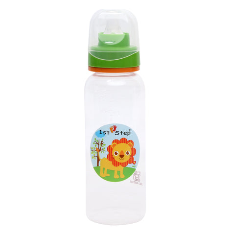 1st Step 250 Ml BPA Free Polypropylene Feeding Bottle- Orange