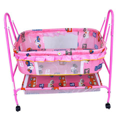 1st Step Cradle With Swing And Mosquito Net - Pink