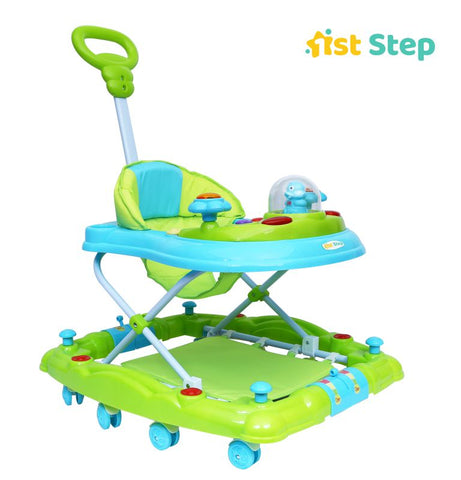 1st Step Walker Cum Rocker-Green