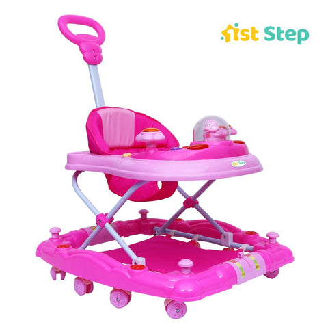 1st Step Walker Cum Rocker-Pink