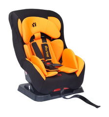 1st Step ECE R44/04 Safety Certified Car Seat for Kids of 2 to 5 Years Age with 3 Recline Position and 5 Point Safety Harness - Orange