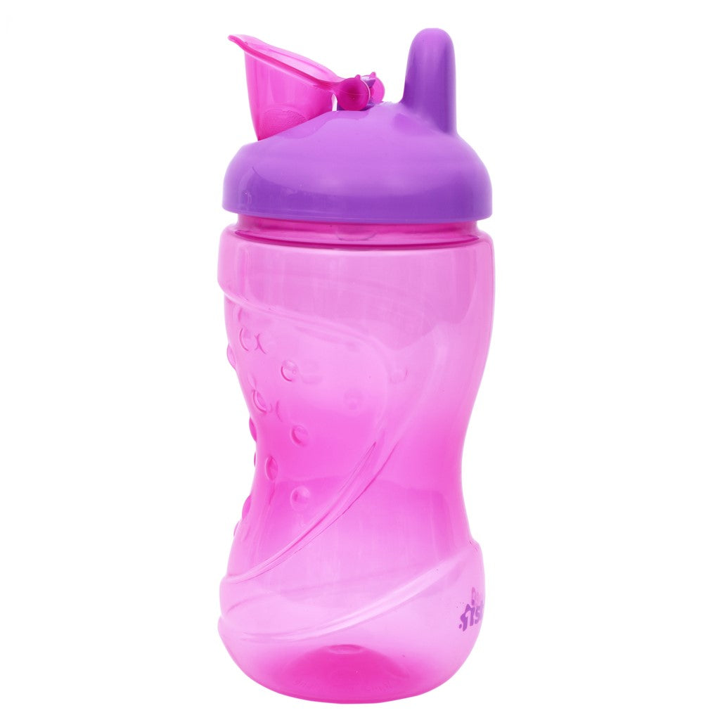 1st Step BPA Free Hard Spout Grippy Cup-Pink
