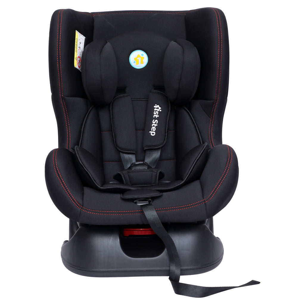 1st Step Convertible Car Seat With 5 Point Safety Harness-Black