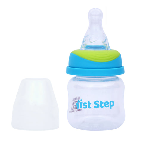 1st Step 60ml BPA Free Polypropylene Feeding Bottle - Blue