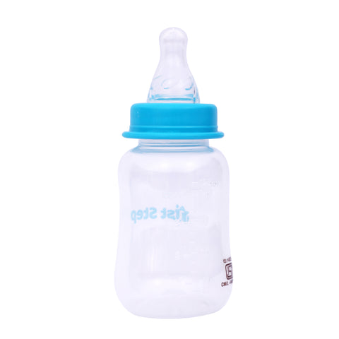 1st Step 125 ml BPA Free Polypropylene Feeding Bottle-Blue
