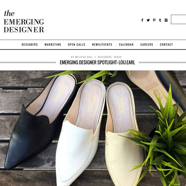 The Emerging Designer, July 2015