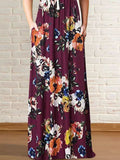 Floral Pocket Maxi Dress