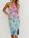 Mermaid Slim Sling Dress