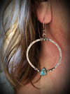 Retro Turquoise Women's Earrings
