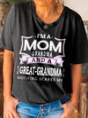 I'm A Mom Grandma And Great Grandma  Classic Women T-Shirt