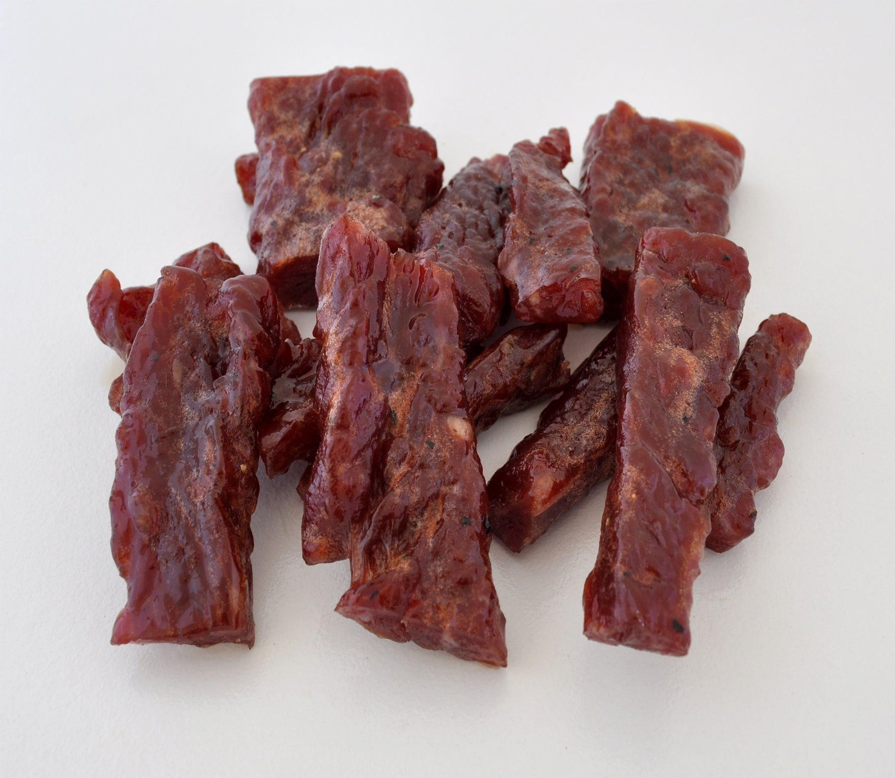 Garlic - Smoked Steak Strips- 3 ounces